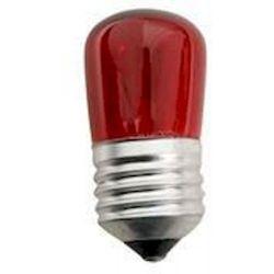 Λαμπα Νυκτος 5w E27 Κοκκινη 240v Eurolamp 147-88172