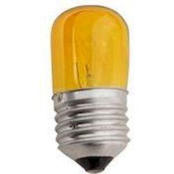 Λαμπα Νυχτος 5w E27 Κιτρινη 2τμχ Blister 240v Eurolamp 800-88173