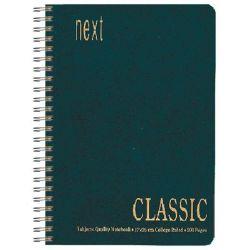 Τετράδιο Classic Σπιράλ 2 θεμ. 17x25 εκ. Πράσινο NEXT 01442