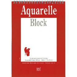 Μπλοκ Ακουαρέλλας 20x30 εκ. 250gr NEXT 01964