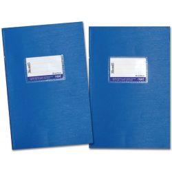 Τετράδιο Λευκό-Ριγέ Μπλε 17x25 εκ. 50 φύλλα NEXT 02824