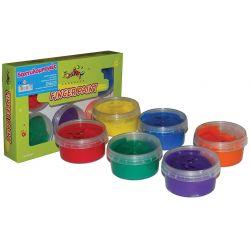 Δακτυλομπογιές 6 χρωμάτων Rainbow 22367
