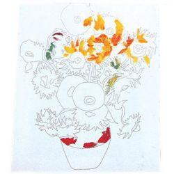 Προτυπωμένος Καμβάς 30x40εκ. με Λουλούδια Artmate 25590