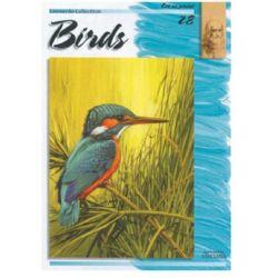 Βιβλίο Ζωγραφικής Πουλιά (28) Leonardo Collection 39908