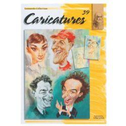 """Βιβλίο Ζωγραφικής """"Καρικατούρες"""" (39) Leonardo Collection 39911"""