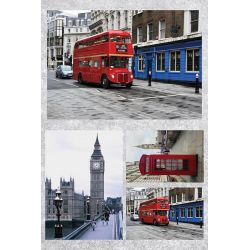Χαρτί Decoupage London 32x48 εκ. NEXT 22522