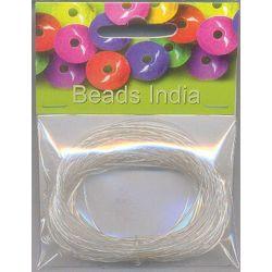 Σύρμα Λεπτό Ασημί 0.4 mm x 15m Beads India 27926