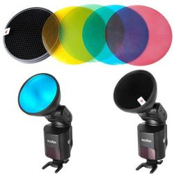 ADS11-ADS12 - Color Filter Gel Pack με Honeycomb Grid για AD360 Godox