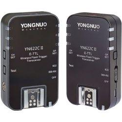 YN-622C II - Σετ E-TTL ραδιοσυχνοτήτων για μηχανές Canon Yongnuo