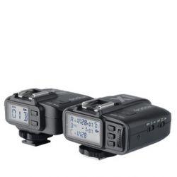 X1-C eTTL σύστημα ραδιοσυχνότητας 2.4GHz για μηχανές Canon (πομπός & δέκτης) Godox