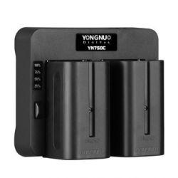 YN750C - Διπλός ταχυφορτιστής μπαταριών τύπου Sony L Yongnuo