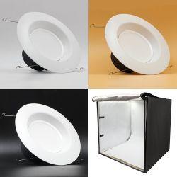 Κύβος Φωτογράφισης 60cm με Ενσωματωμένα Φωτιστικά LED Luminus