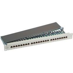 Patchpanel 24 Port Cat6 STP 37667SW.1 EFB
