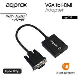Converter VGA+Audio TO HDMI Οθονη C25 APPROX