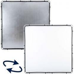 Υφασμα Ανακλασης Skylite Rapid 2x2m Silver/White LR82231R Lastolite
