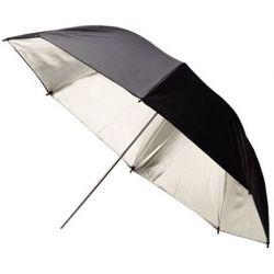 Ομπρέλα Μαύρη/Ασημί 185cm Jinbei