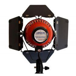 Κιτ 3 φωτιστικών 800W με ενσωματωμένο Dimmer Tριπόδων &Tσάντες Luminus