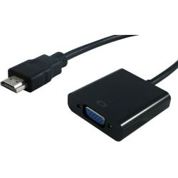 Converter HDMI M TO VGA F S3200-10 STANDARD