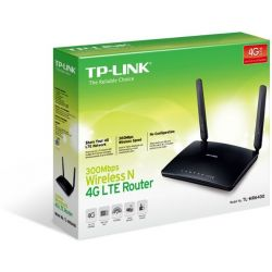 4G LTE WIR N Router 300Mbps με υποδοχή κάρτας SIM TL-MR6400 Tp-Link