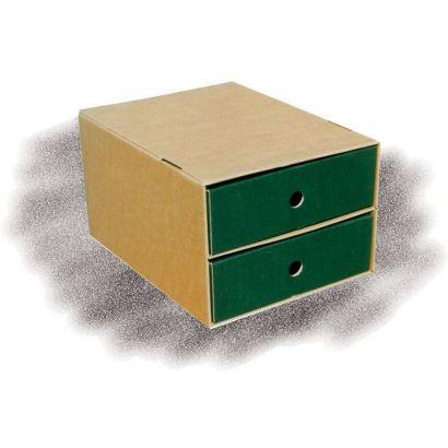 Συρταριερα Α4 Απο Χαρτονι με 2 συρταρια Paperworld